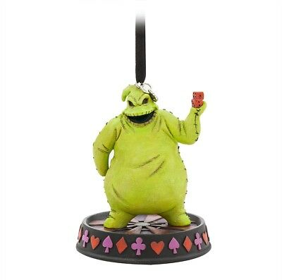 Oogie Boogie Hanging Ornament Nightmare Before Christmas Disney Figure Rare Toy