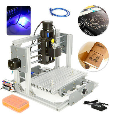 CNC 2417 Mini Metal Engraver PCB Milling Machine DIY Mill Router Kit USB Desktop