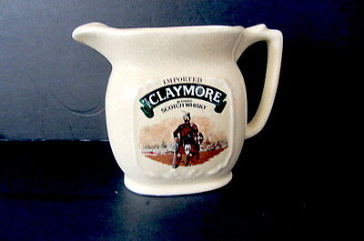 The Claymore Blended Scotch Whisky Water Jug.
