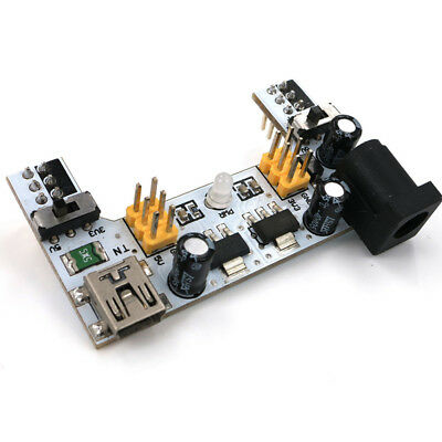 1Stks Popular Breadboard Power Supply Module DC7-12V For Arduino Bread Board