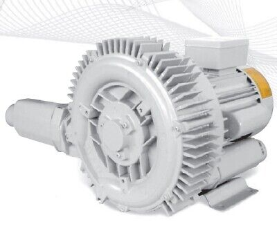 Regenerative Blower HRB-302/1 1-Phase 1.1KW, 1.5HP Ring Blower Vacuum & Pressure