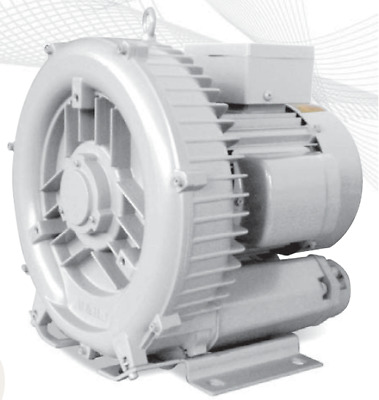 Regenerative Blower HRB-301 1-Phase 1.5KW, 2.0HP Ring Blower Vacuum & Pressure