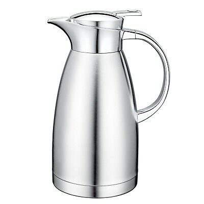 Thermos Coffee Carafe Flask Stainless Steel Glass Pitcher Vacuum Insulated Home