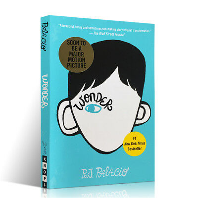 WONDER by R. J. Palacio (Hardcover,February 14, 2012) wonder
