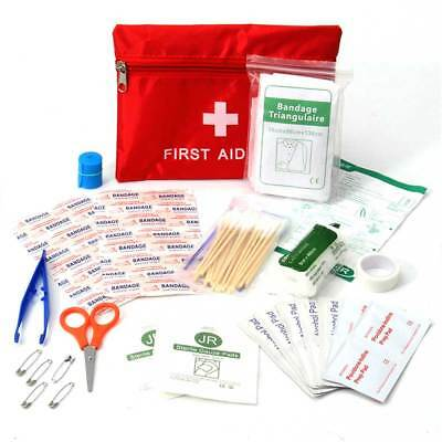 38-380pcs FIRST AID KIT PACK TRAVEL HOME CAR TAXIMEDICAL EMERGENCY BAG EMT SET