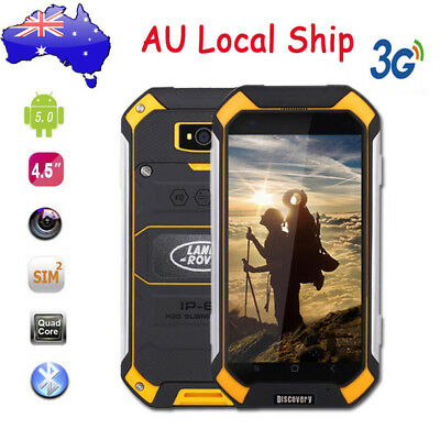 "Unlocked 3G Rugged SmartPhone 4.5"" Android MTK6580 Duad Core Discovery V19 Phone"