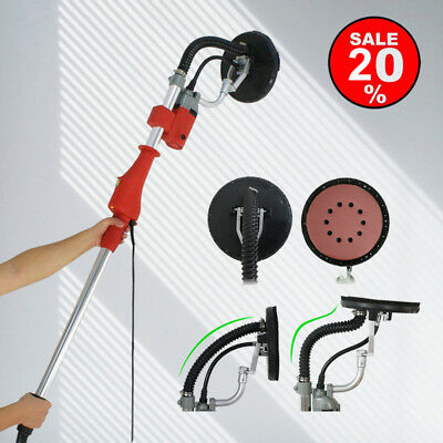 Electric Drywall Vacuum Sander Variable 5 Speed Telescopic Handle