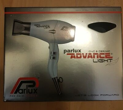 Parlux Advance Light Ionic + Ceramic Ice Hairdryer with Silencer