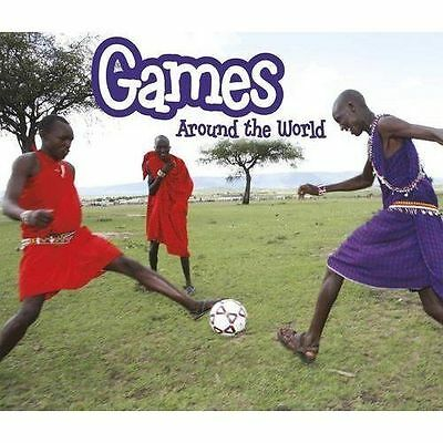Games Around the World,Lewis, Clare,New Book mon0000120022