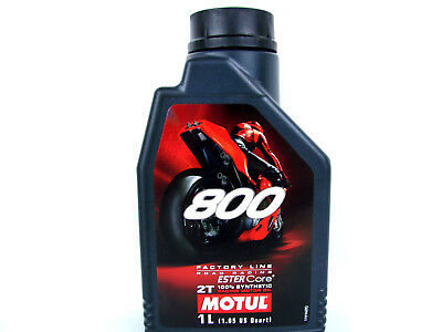 Motorcycle Oil Motul 800 2-Takt Engine Factory Line Road Racing 1x 1 L