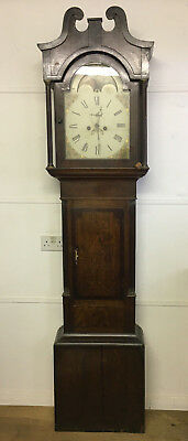 Mahogany Grandfather Clock, Longcase, Provincial, Moon-Phases, French, Naval.
