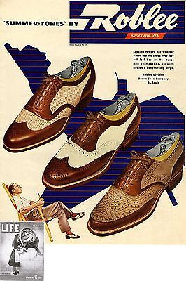 Roblee Division St. Louis * Shoes for Men * US-ADVERTISING 1947