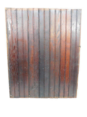 Antique Victorian Style Beadboard Door - C. 1890 Fir Architectural Salvage