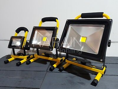 Rechargeable Floodlight LED Flood Light  10/20/30W Security Outdoor Work