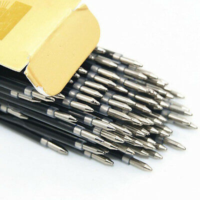 New 20pcs/lot Black ink 0.7mm Retractable Pen Refills Ballpoint Pen Refill Pen