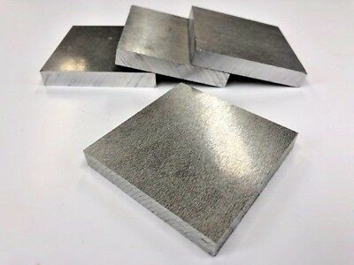 Aluminium Square Plate 70Mm X 70Mm X 10Mm Billet Bar Engineering Modelmaking Mil