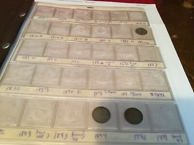 Set of 23 dimes 1882 H to 1936 Canadian Silver dime Canada