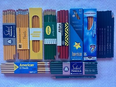 Vintage Pencil Lot Eberhard Faber Eagle Mongol Dixon