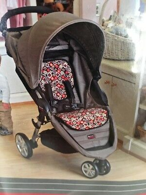 Britax B-Agile Redwood Fashion Insert S888900 Seat Liner For Stroller