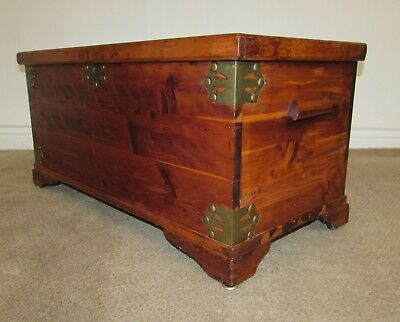 VINTAGE CEDAR TRUNK, HOPE CHEST, BLANKET CHEST by WEST BRANCH