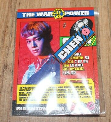 Exo The Power Of Music Ddp Stardium Smtown Sum Official Goods Chen Pin Badge