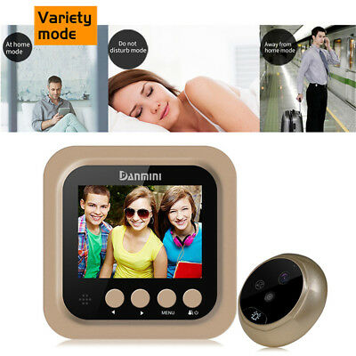 """2.4"""" Inch Smart Door Bell WiFi Visual Night Vision Camera Home Monitor Security"""