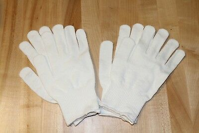 2 Pair Winter Thermal Underglove Ski Glove Liner Insulation Small Medium Large