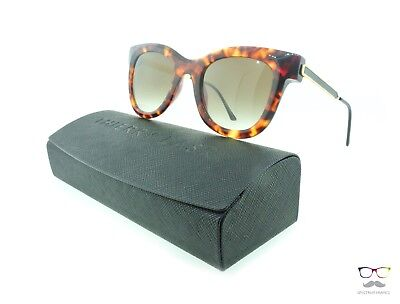 Thierry Lasry Sunglasses Nudity 008 Tortoise Shell / Gradient Brown Lenses