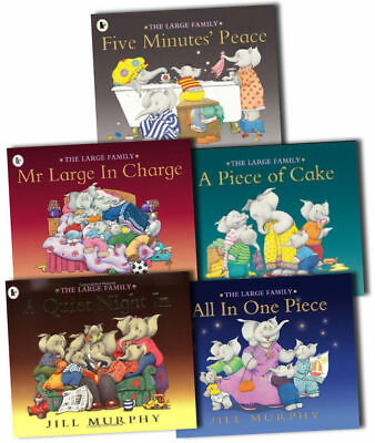 The Large Family Collection - 5 Books by Jill Murphy. Children's Bedtime Story