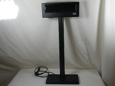 HP LD220-HP POS Pole Display for Cash Register P/N 492240-001 HARDLY USED