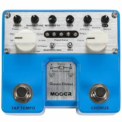 New Mooer Reverie Chorus Twin Series Digital Chorus Guitar Effects Pedal, TCH1