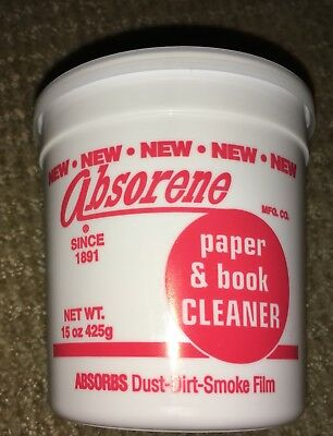 Absorene book and document cleaner (Two containers)