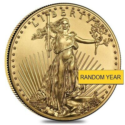 Sale Price - 1 oz Gold American Eagle $50 Coin BU (Random Year)