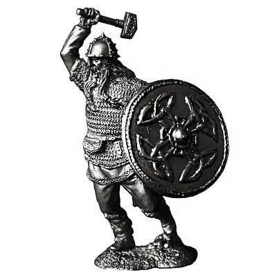 3 oz Silver Norse Warhammer Viking .925 Silver Sterling - Art of War Series