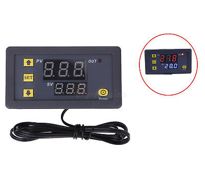 New W3230 LCD 12V Digital Thermostat Temperature Controller Meter Regulator