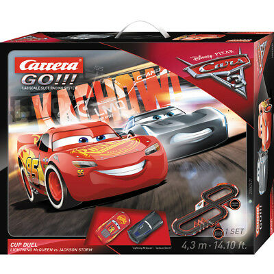 Carrera Go!!! Cars 3 Cup Duel Slot Car Set - NEW