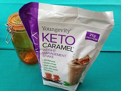 Youngevity Slender FX Keto Caramel Weight Management Shake Dr Wallach