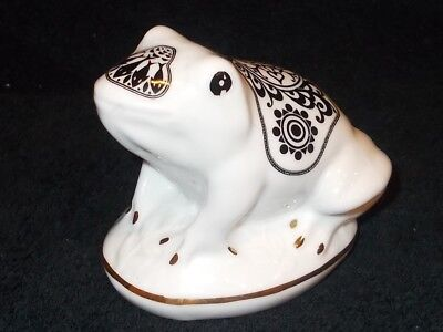 Adorable Noritake Lanka Porcelain Mlesna Giftware Creation Frog, Sooo Cute!!