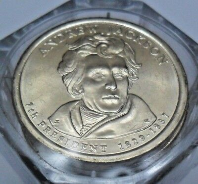 2008 D Andrew Jackson Presidential Coin *FIRST DAY ISSUE!* **FREE SHIPPING**