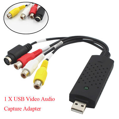 Professional USB 1Channel 3Chips Acquisition Card USB Video Capture Surveillance