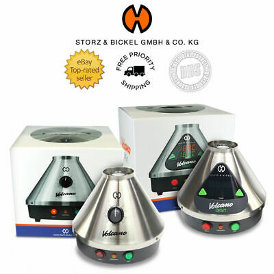 Volcano Storz and Bickel Classic or Digital Authentic + FREE New Easy Valve Set