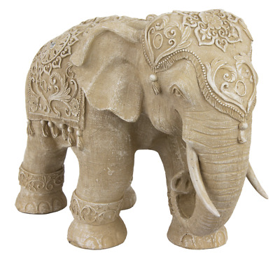 Elephant Gift Adult African Cute Statue Feng Shui Decor Figurine Lucky Big Royal