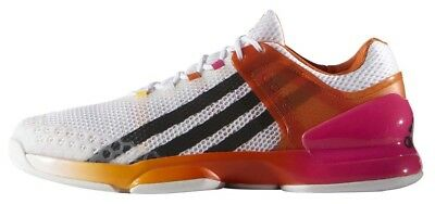 New adidas adizero ubersonic Man's Tennis shoes  White/Orange  AF5788