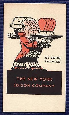 The New York Edison Company At Your Service Blotter