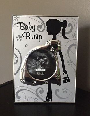 BABY BUMP Ultrasound Photo Frame by MALDEN Keepsake Shower Gift CUTE!!