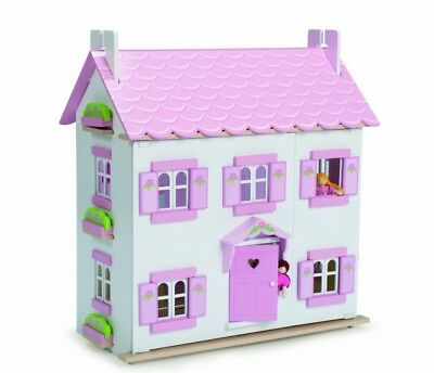 Le Toy Van Sophie's House Wooden Dolls House (New Version). Shipping Included