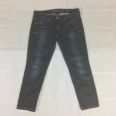 Women's GUESS Stretch Straight Leg Jeans Size 27
