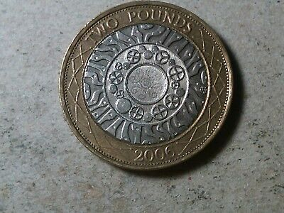 Great Britain 2 pounds 2006 bi-metallic coin