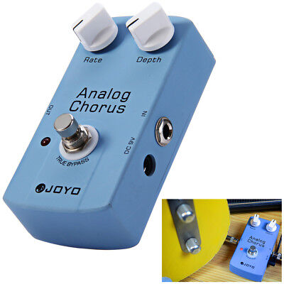 JOYO JF - 37 True Bypass Design Electric Guitar Analog Chorus Effect Pedal DC 9V
