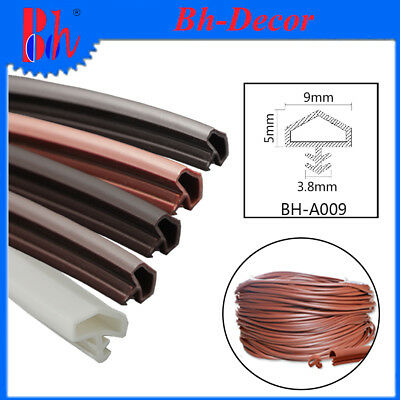 Extrusion PVC Rubber Sealing Strips Door Frame Gasket Seals Weather Stripping A9